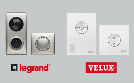 Partnerships with Velux & Legrand