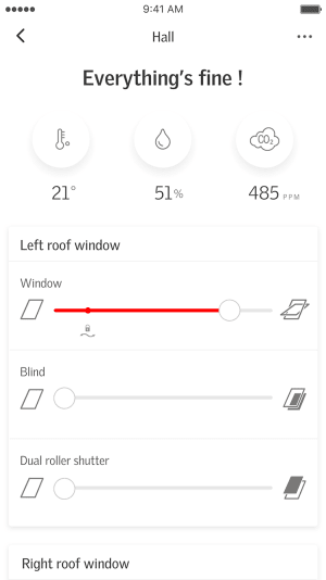 Application Velux Active